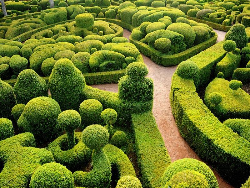 Gardens of Marqueyssac, Dordogne